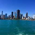 Beautiful skyline views from the water taxi