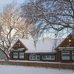 The Pavilion in the Snow