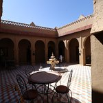 The center of the Riad