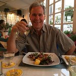 Evening meal at En-yevo, one of many visits, it is a must visit if your are n the area of Agia N