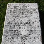 The gravesite of Rev./Dr. John Clinch - First smallpox vacination.