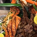 Sea food mix grill and steaks!