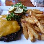 Shaddy Burger (No Bun) and Fries