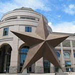 The five-pointed star of the Great State of Texas