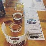 Flights at top rate breweries