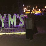 Staying here at long beach chalet and eating at Lym's why wouldn't we as great food, service and
