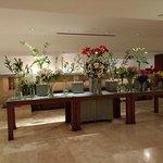 Flores listas para decorar las habitaciones.