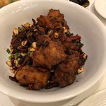 Sichuan style spicy chicken wings - amazing!