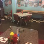Old fashion diner feel