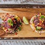 Seared Tuna Tacos
