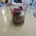 Chocolate tart dish