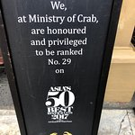 Ministry of Crab Foto