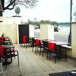 Come and enjoy our lovely terrace just next to the Danube