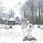 Caldecott Park in the snow