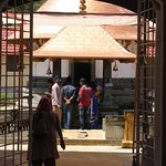 Entrance to temple.
