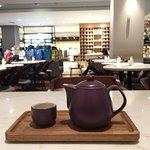 Lewis and Carroll tea pot