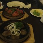 Dinner - pork and lamb
