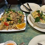 Thai rice and curry.