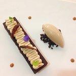 merveilleux crémeux de chocolat Taïnori et déclinaison autour du Carambar (pas trop sucré, parfa