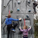 4 different climbing walls included in the price!