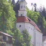 Frau am Berg Kirche,Füssen,where Kalvarienberg begins.