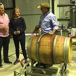 Wine straight out the barrel at Fermoy Estate