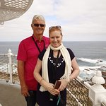 Atop the Leeuwin Lighthouse