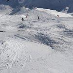 Bumpy slopes on Sarenne