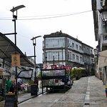 Restaurantmeile in der Altstadt von Vigo