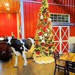 the christmas cow