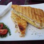 Chicken and Pineapple Toasty Turkish
