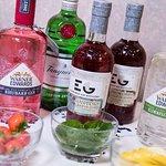 Selection of artisan gins