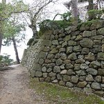 石垣は野面積みで野趣溢れます