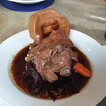 roast beef at the Peasant