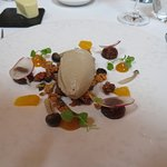 Parfait of duck liver - starter