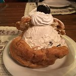 Cookies and Cream Puff