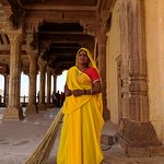 Indian Women at Agra fort