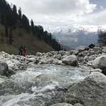 Beas river is free flowing river that adds to the beauty of Manali.