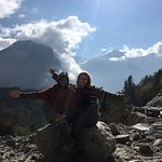 On the way back from Jomsom to Pokhara