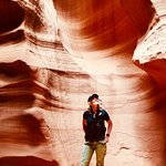 Collecting memories and stories to tell. This is Antelope Canyon