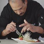 El Chef Ricardo Meza.