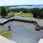 Lakeview Lodge overlooking beautiful Pomme de Terre lake.