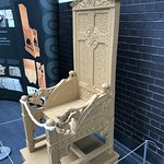 Ancient and modern- 3D printed copy of the Eisteddfod Black Chair