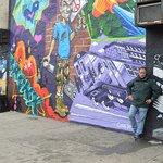 Un mural precioso, salvo el de verde, jejej