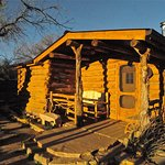 Cowboy Log Cabin