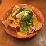 Pimento cheese nachos