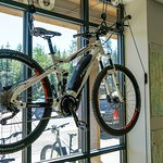 We carry Haibike, Izip, Easy Motion and Yuba bikes!
