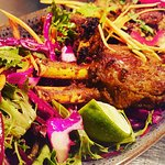 Our Charcoal Clay-Oven lamb cutlets are just amazing