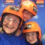 Molly, Elodie and Lizzy iFly adventure