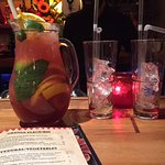 Sangria and Menu